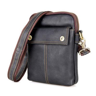 Мужская сумка барсетка месенджер Cross Body из натуральной кожи