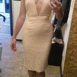 персиковое платье мисквайдед