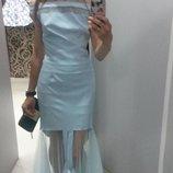 бирюзовое платье новое