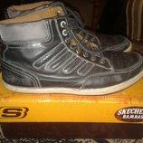 Класные ботинки Skechers 40-41р.