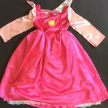 Карнавальное платье Аврора Дисней оригинал на возраст 5-6 лет