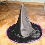 Шапка волшебницы на хеллоуен 12-18 мес 46-48 см отл.состояние качественная.плотная