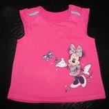 футболка Disney 3-6 мес отлично до 9 как новая