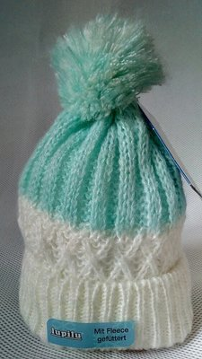 Зимняя шапка на флисе Lupilu.Германия. р.One size
