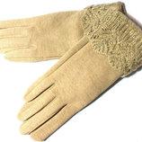 Перчатки сенсорные на меху, разн. цвета.