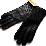 Кашемировые перчатки кожа .