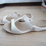 Босоножки женские 9 р 26 см Crocs Крокс оригинал бренд лето море