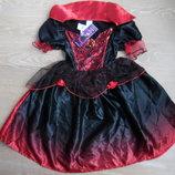 Платье карнавал 3-4 года 104 см Halloween новое