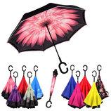 Зонт обратного открытия