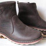 Levis Мужские зимние кожаные Levi's Угги Левис ботинки сапоги уги