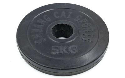 Блины обрезиненные диски обрезиненные 1836-5 вес 5кг