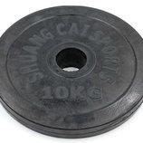 Блины обрезиненные диски обрезиненные 1447-10 вес 10кг