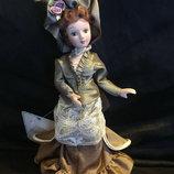 Коллекционная кукла ручной работы,фарфор