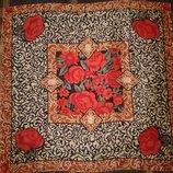 Шелковый платок Noa Noa, 100 % шелк, 53 см х 51 см