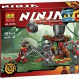 Конструктор Bela Ninja 10578 Атака Алой армии 101 деталь аналог Lego Ninjago 70621