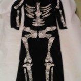 Карнавальное платье скилет размер S