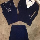 Свитер,жилет,блуза,блузка,кофта,юбка,школьная,для школы,8-11лет