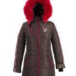 Зимнее куртка пальто подростковое для девочек Размеры 38, 40, 42, 44