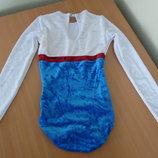трико одежда для 146-164 см танцев тренировок велюр бархат anniel мягкое тянется