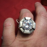 кольцо женское серебро размер 18,5