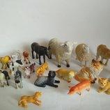 Набор игрушек животные питомец для куклы котик собачка игрушка