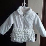Демисезонная курточка на девочку 2- 2.5лет