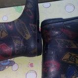 Резиновые сапоги для мальчика