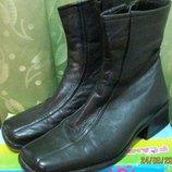 Ботинки зимние 37 размера женские кожа