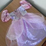 Карнавальное платье 3-5 лет фиолетовое Анна и Эльза Disney Дисней