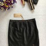 Бронь Снизила цену Lofty Manner кожаная юбка , юбка из кожзама