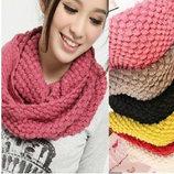 Женский шарф-хомут цвета разные AL7919