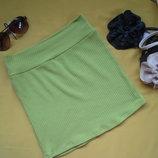 Красивая юбка или майка нежно-зелёного цвета,отличное состояние