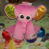 Lamaze Ламазе развивающая музыкальная игрушка подвеска слоник слон