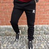 Штаны спортивные теплые Reebok спортивні штани рібок на флісі