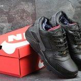 Зимние мужские кроссовки Nike Huarache black