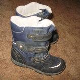 Зимние ботинки Superfit для двора. р.34