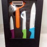набор керамических ножей керам.овощечистка