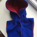 Шапка шлем манишка шарф 46-50см