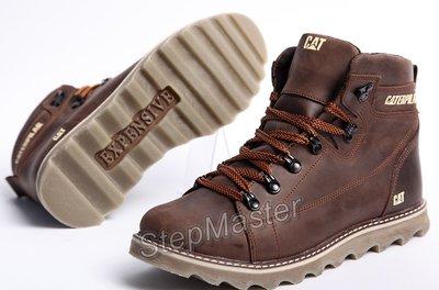 a6811a0d2 Ботинки мужские кожаные CAT Rider: 1070 грн - мужские зимние ботинки ...