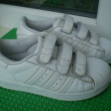 кроссовки Adidas Super Star р.29 11.5 ,,,стелька 18 см кожа