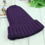 Вязаная женская шапка, разных цветов AL7912