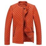 Куртка кожаная яркая AL5265