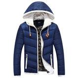 Мужская куртка зимняя 3 цвета D6611