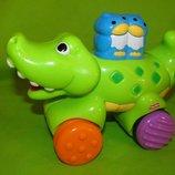 Крокодильчик каталка фишер прайс