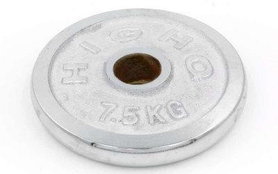 Блины хромированные диски хромированные 1838 вес 7,5кг, d 52мм