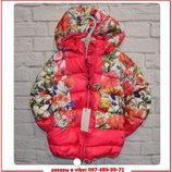 Тёплая осенняя куртка для девочки