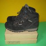 Ботинки Meindl Gore-Tex Герания 42 размер по стельке 27 см. Кожаные, Зимние . Подошва Vibram.В иде