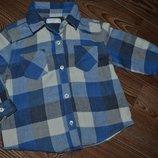 Рубашка стиляге Mango 9-12мес