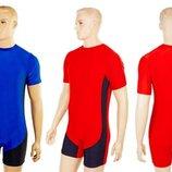 Трико для борьбы и тяжелой атлетики, пауэрлифтинга 0716 2 цвета, размер M-4XL
