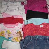 пакет одежды на девочку 2-3 года 92-98 рост 15 вещей